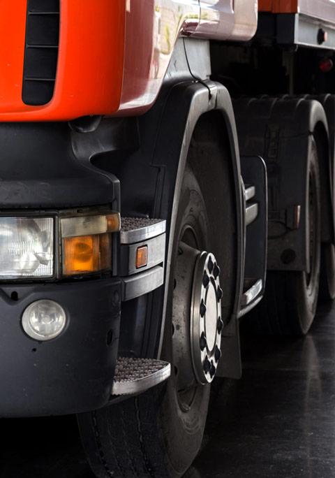 Skup ciężarówek